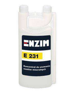 E231 – Koncentrat do usuwania osadów mineralnych 1L
