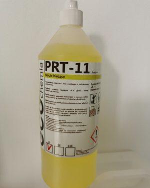 PRT 11, 1L – preparat do mycia powierzchni wodoodpornych nieodpornych na wysokie pH