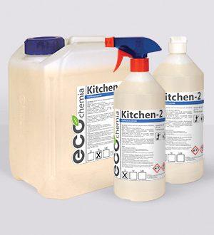 Kitchen 2, 1L – środek na przypalony i zaschnięty tłuszcz