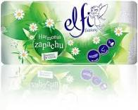Elfi papier toaletowy rumiankowy 3-warstwowy, 100% celulozy