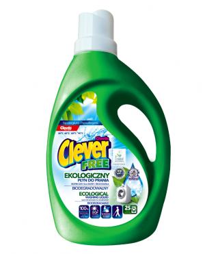 Clever FREE – płyn do prania ekologiczny