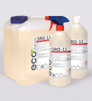 SRO-11, 1L – preparat do mycia armatur i obszaru toalet